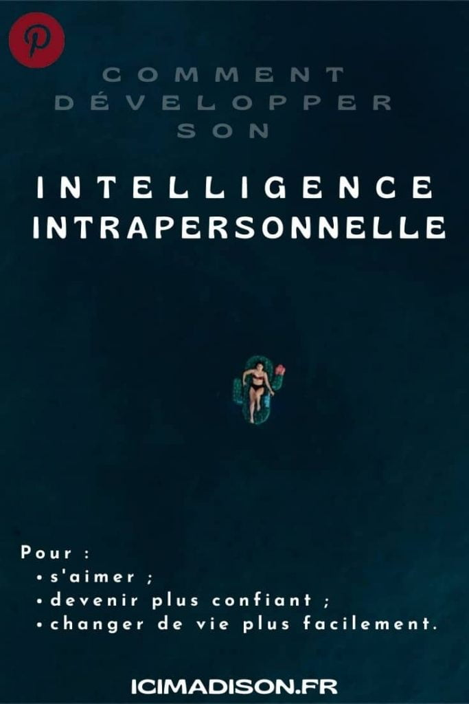 infographie intelligence intrapersonnelle (pinterest)